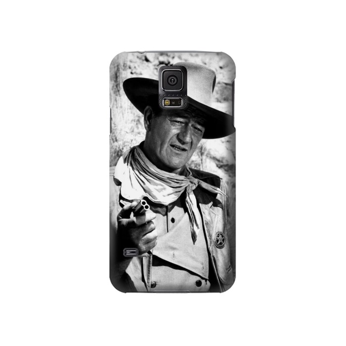 Printed John Wayne The Searchers Samsung Galaxy S5 Case