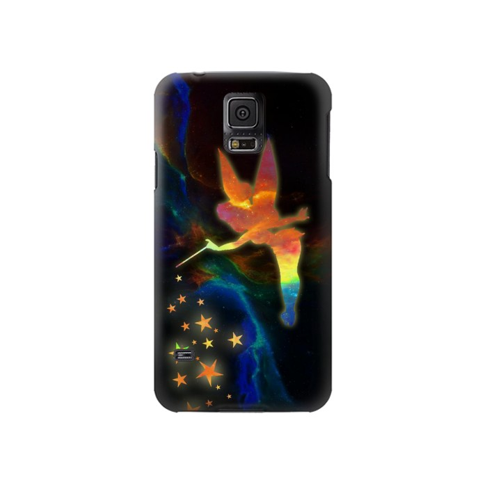 Printed Tinkerbell Magic Sparkle Samsung Galaxy S5 Case