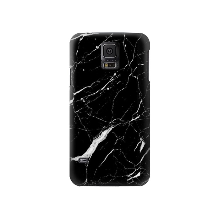 Printed Black Marble Graphic Printed Samsung Galaxy S5 Case