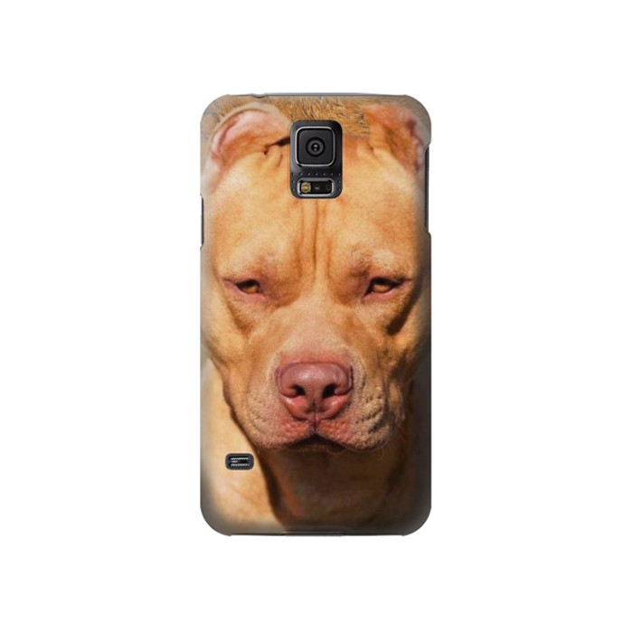 Printed American Pitbull Dog Samsung Galaxy S5 Case