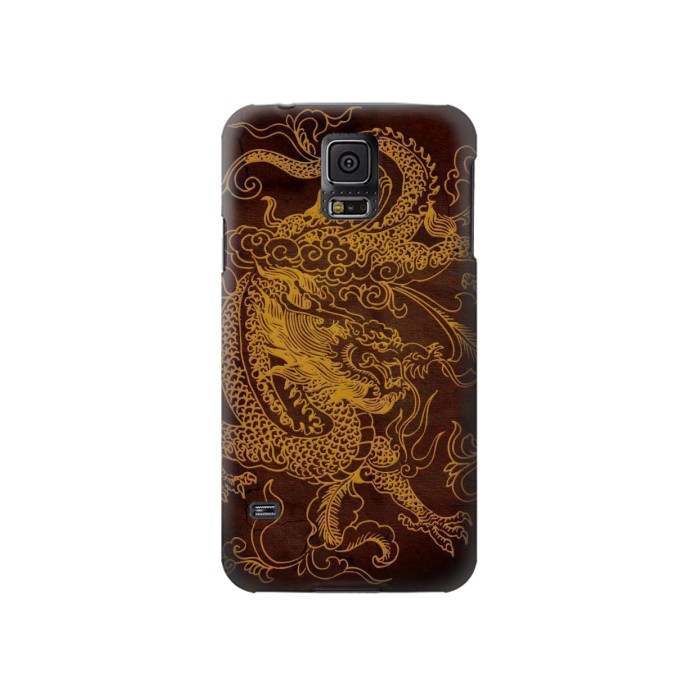 Printed Chinese Dragon Samsung Galaxy S5 Case