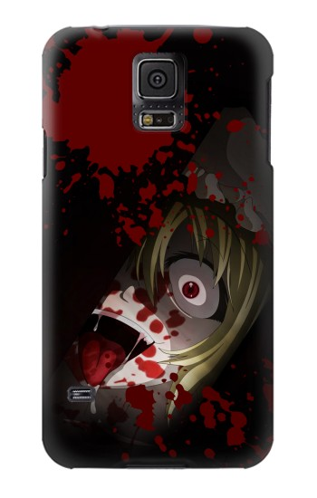 Printed Creepy Blood Splatter Samsung Galaxy S5 Case