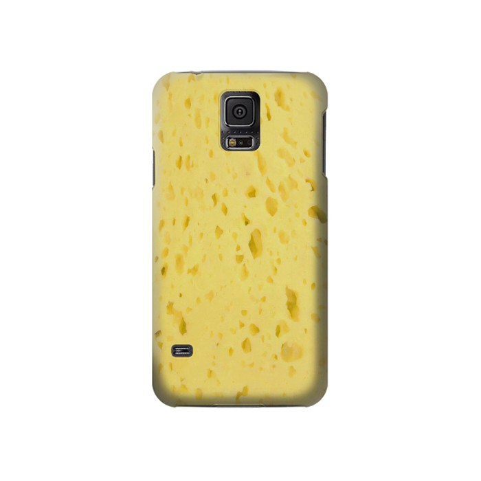 Printed Cheese Texture Samsung Galaxy S5 Case