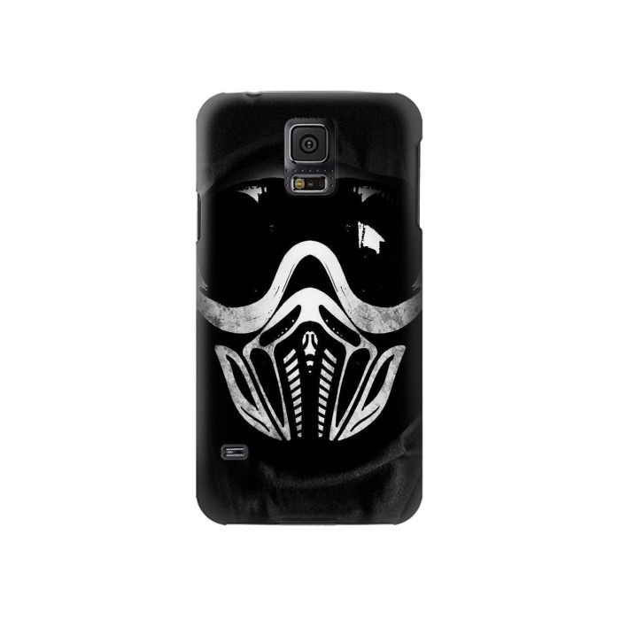 Printed Paintball Mask Samsung Galaxy S5 Case
