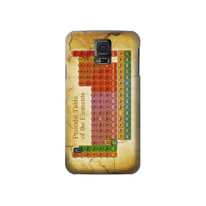 Printed Vintage Periodic Table of Elements Samsung Galaxy S5 Case