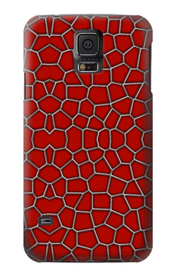 Printed Red Spider Texture Samsung Galaxy S5 Case