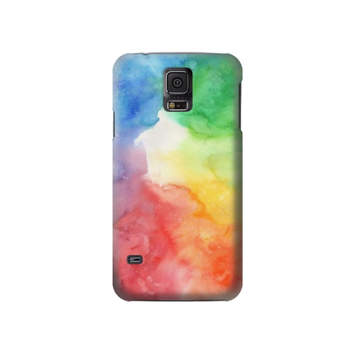 Printed Colorful Watercolor Samsung Galaxy S5 Case