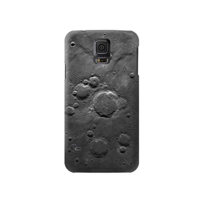 Printed Moon Surface Samsung Galaxy S5 Case
