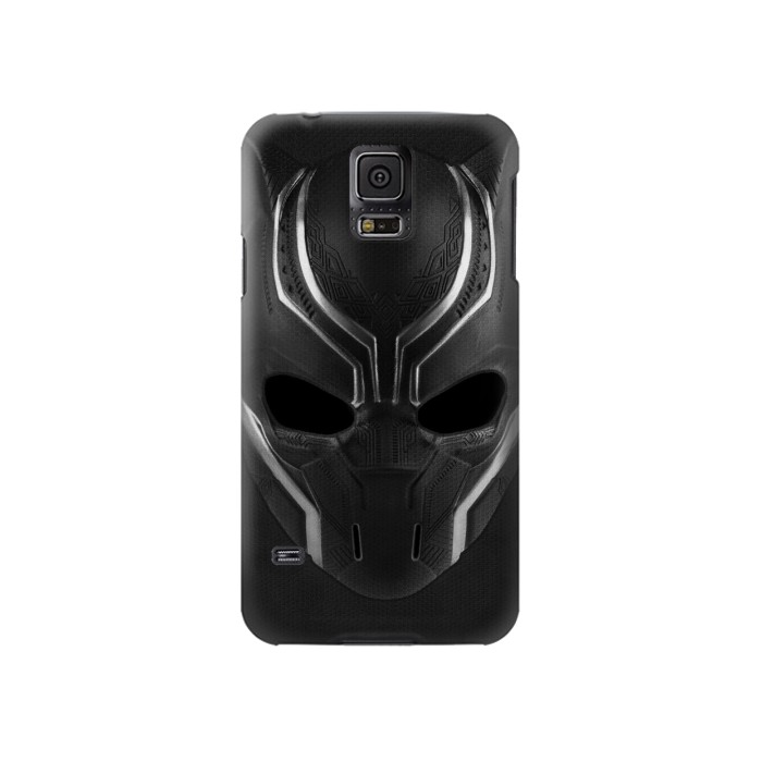 Printed Black Panther Mask Samsung Galaxy S5 Case