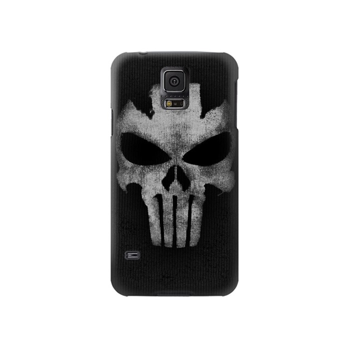 Printed Crossbones Skull Mask Samsung Galaxy S5 Case
