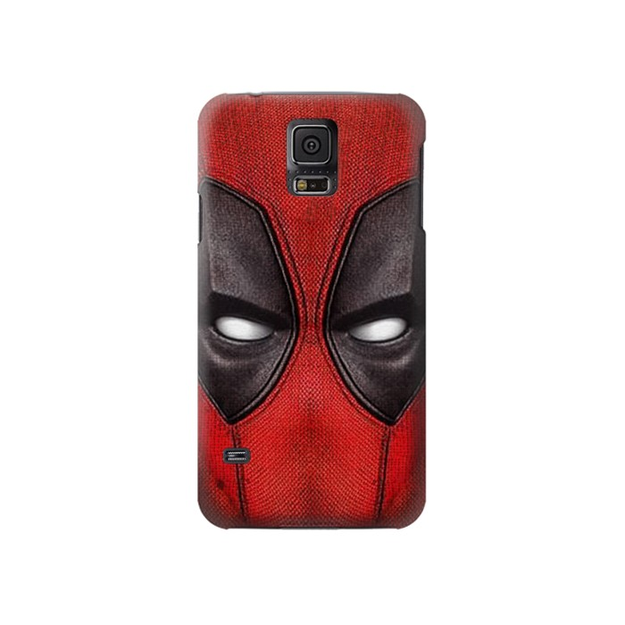 Printed Deadpool Mask Samsung Galaxy S5 Case