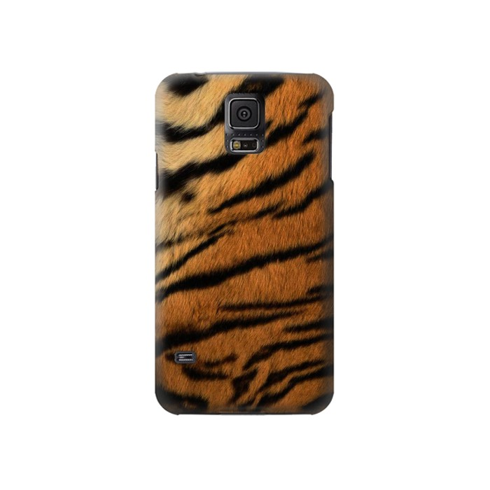 Printed Tiger Stripes Texture Samsung Galaxy S5 Case