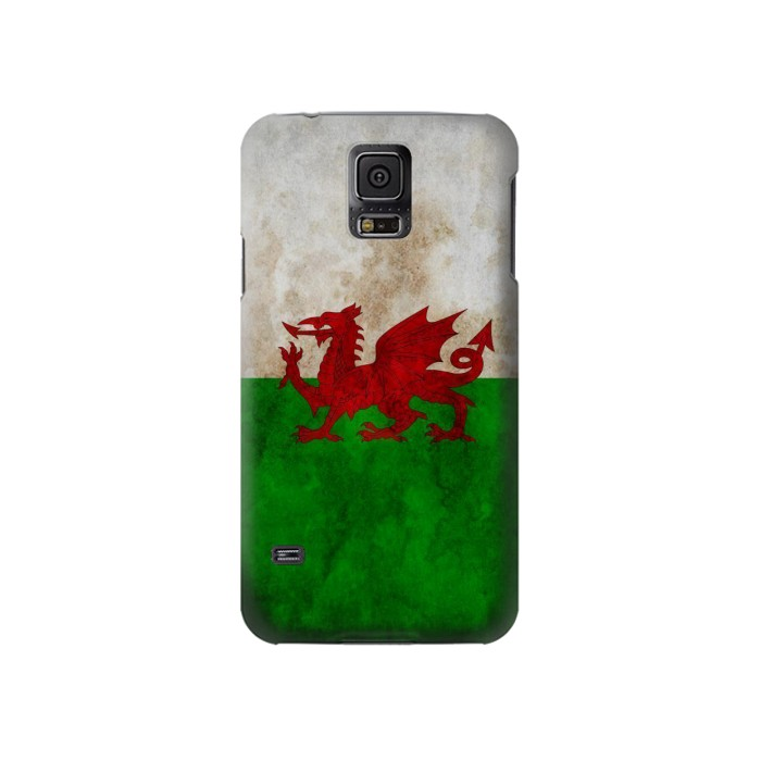 Printed Wales Red Dragon Flag Samsung Galaxy S5 Case