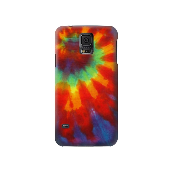 Printed Colorful Tie Dye Fabric Texture Samsung Galaxy S5 Case