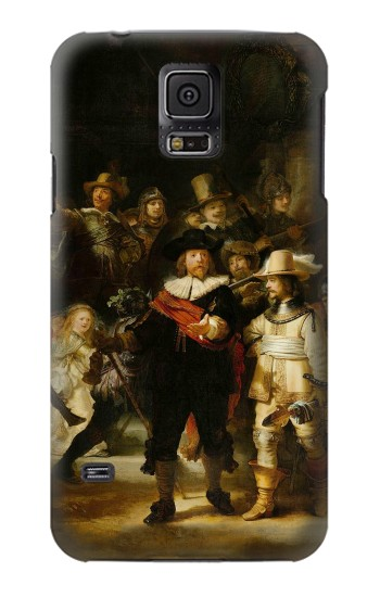Printed The Night Watch Rembrandt Samsung Galaxy S5 Case
