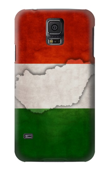 Printed Hungary Flag Samsung Galaxy S5 Case