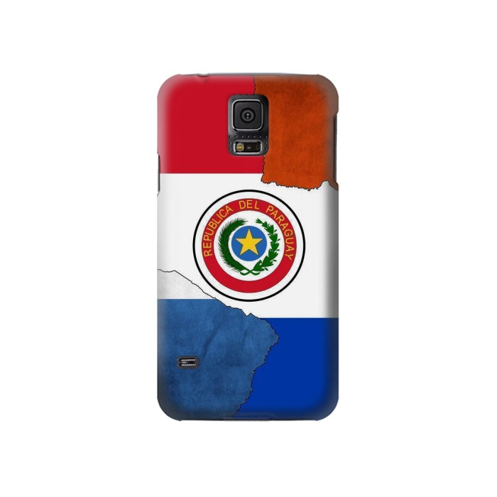 Printed Paraguay Flag Samsung Galaxy S5 Case