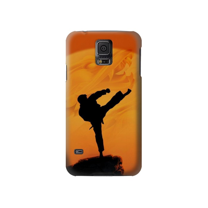 Printed Kung Fu Karate Fighter Samsung Galaxy S5 Case