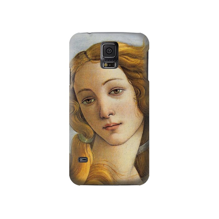 Printed Botticelli Birth of Venus Painting Samsung Galaxy S5 Case
