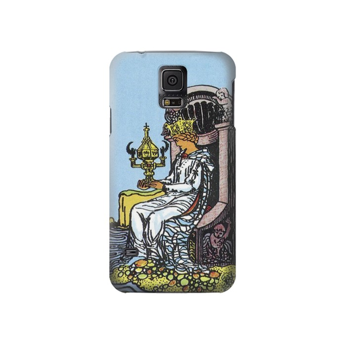 Printed Tarot Card Queen of Cups Samsung Galaxy S5 Case