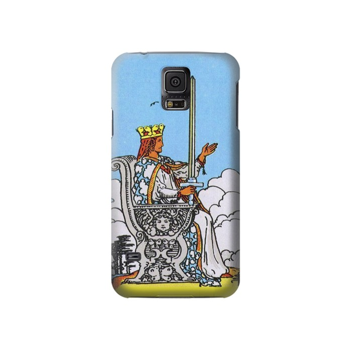 Printed Tarot Card Queen of Swords Samsung Galaxy S5 Case