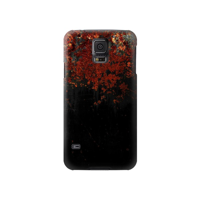 Printed Rusted Metal Texture Samsung Galaxy S5 Case