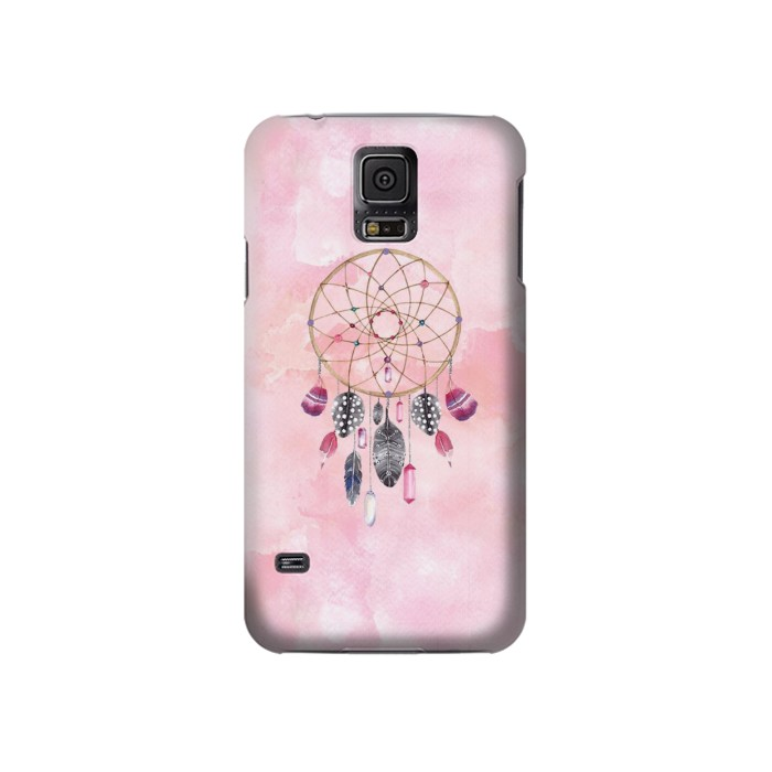 Printed Dreamcatcher Watercolor Painting Samsung Galaxy S5 Case