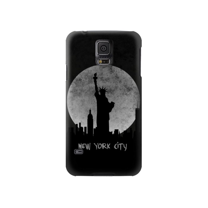 Printed New York City Samsung Galaxy S5 Case