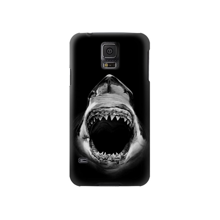 Printed Great White Shark Samsung Galaxy S5 Case