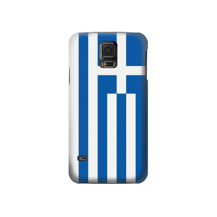 Printed Flag of Greece Samsung Galaxy S5 Case