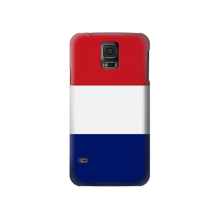 Printed Flag of France and the Netherlands Samsung Galaxy S5 Case