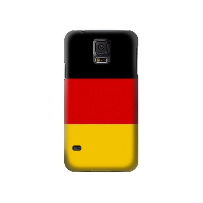 Printed Flag of Germany Samsung Galaxy S5 Case
