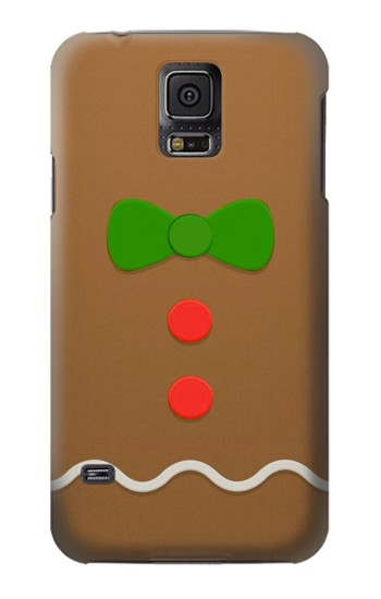 Printed Gingerbread Man Samsung Galaxy S5 Case