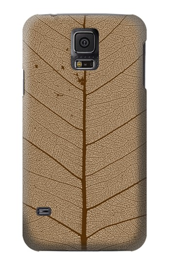 Printed Skeleton Leaf Printed Samsung Galaxy S5 Case