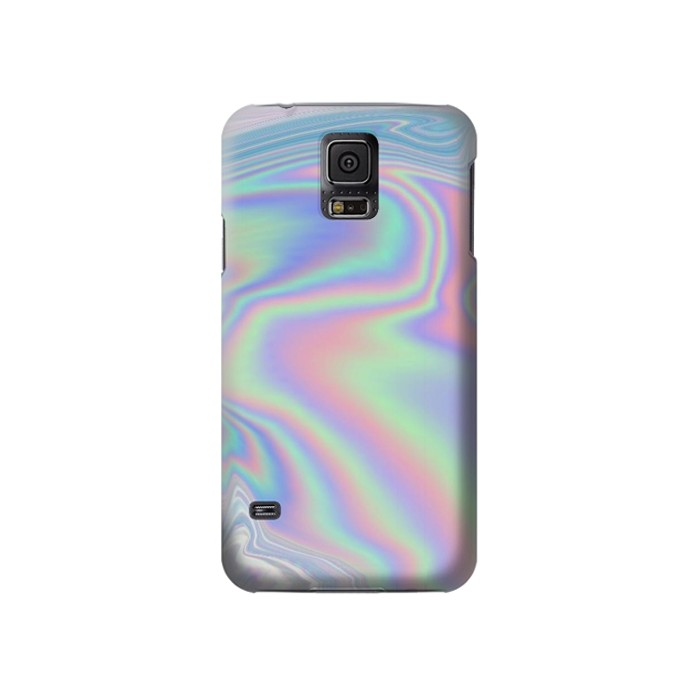 Printed Pastel Holographic Photo Printed Samsung Galaxy S5 Case