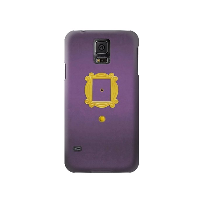 Printed Friends Purple Door Minimalist Samsung Galaxy S5 Case