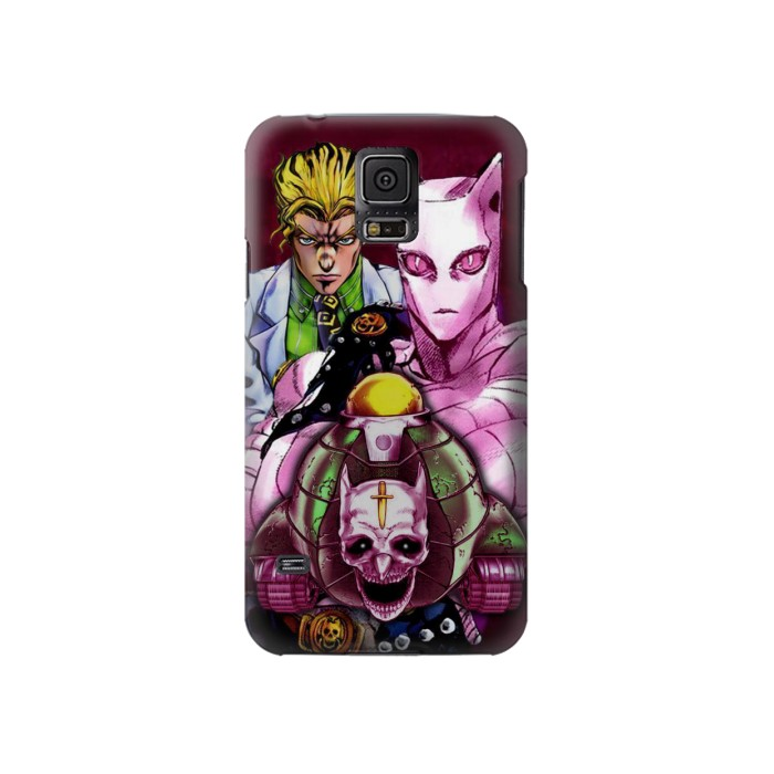 Printed Jojo Bizarre Adventure Kira Yoshikage Killer Queen Samsung Galaxy S5 Case
