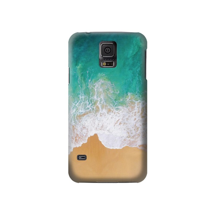 Printed Sea Beach Samsung Galaxy S5 Case