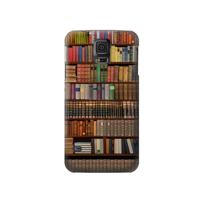 Printed Bookshelf Samsung Galaxy S5 Case