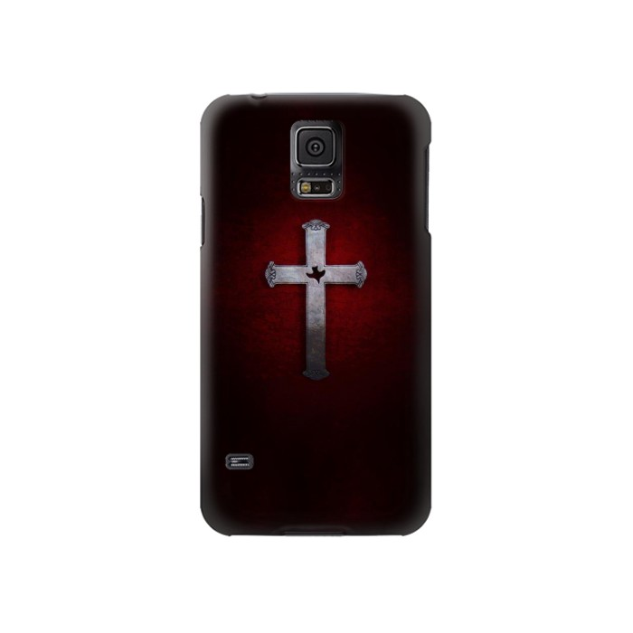 Printed Christian Cross Samsung Galaxy S5 Case