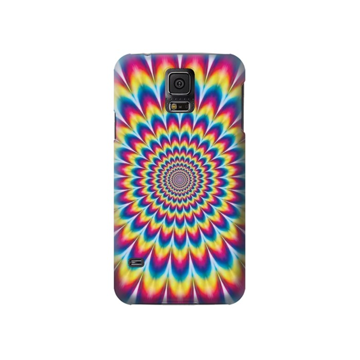 Printed Colorful Psychedelic Samsung Galaxy S5 Case