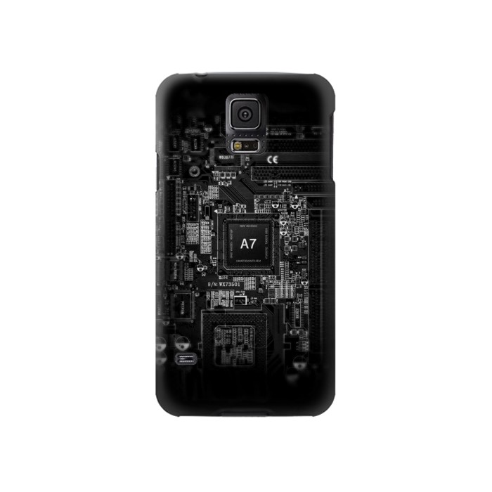 Printed Mobile Phone Inside Samsung Galaxy S5 Case