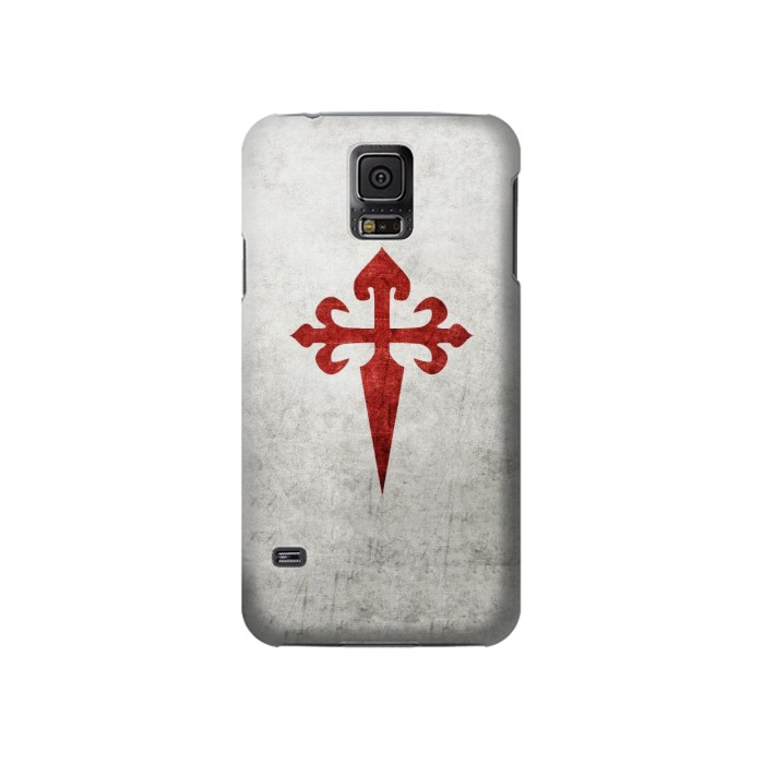 Printed Order of Santiago Cross of Saint James Samsung Galaxy S5 Case