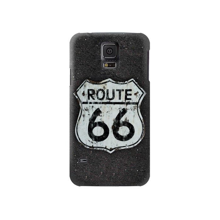 Printed Route 66 Sign Samsung Galaxy S5 Case