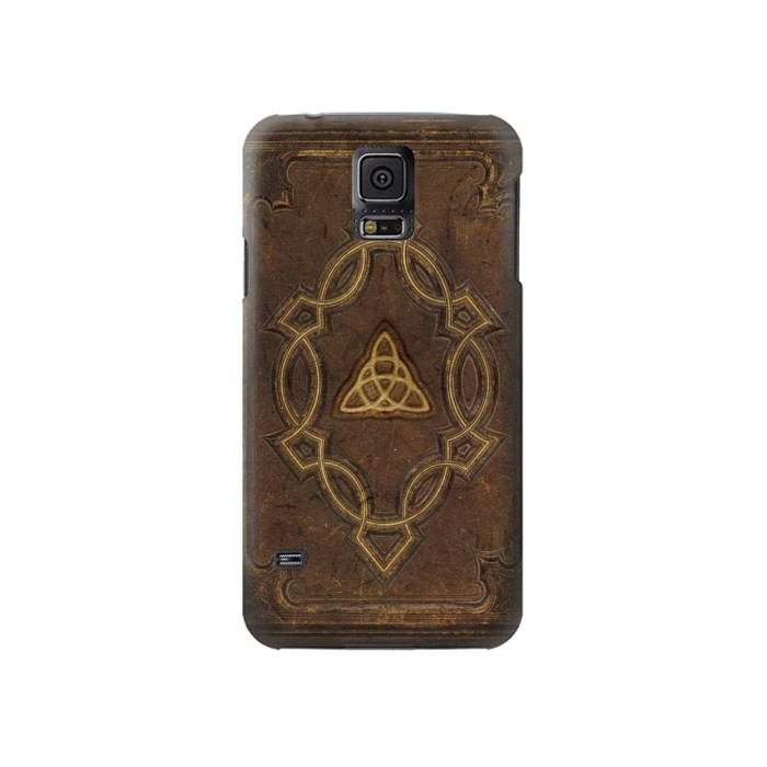 Printed Spell Book Cover Samsung Galaxy S5 Case