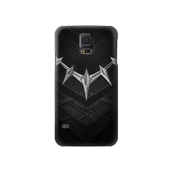 Printed Black Panther Inspired Costume Necklace Samsung Galaxy S5 Case