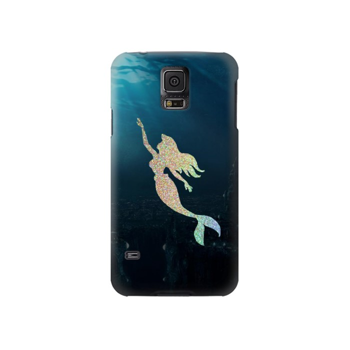 Printed Mermaid Undersea Samsung Galaxy S5 Case