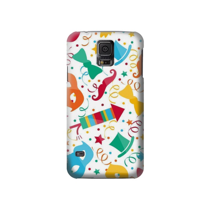 Printed Carnival Pattern Samsung Galaxy S5 Case
