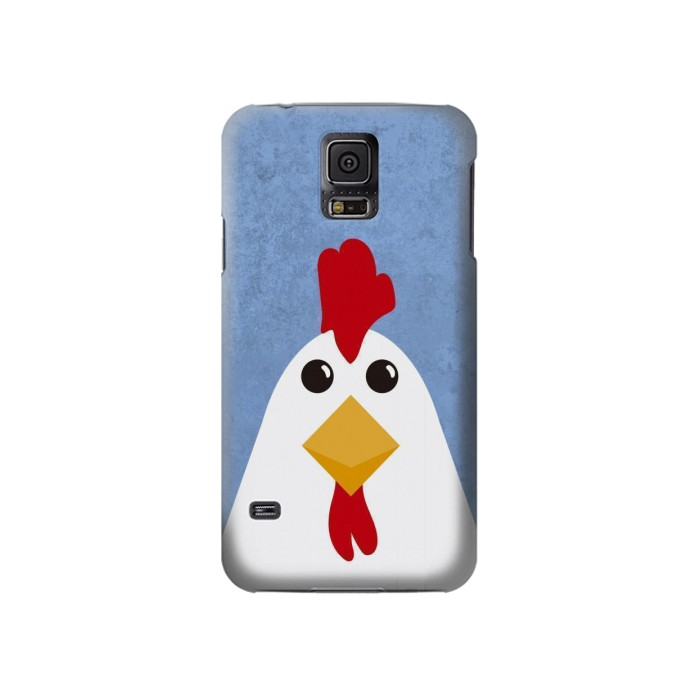 Printed Chicken Cartoon Samsung Galaxy S5 Case