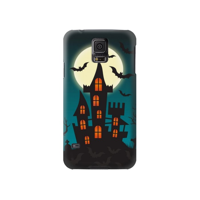 Printed Halloween Festival Castle Samsung Galaxy S5 Case
